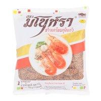 ราคามโนราห์ ข้าวเกรียบกุ้งแก้ว 500กรัม (Manora Unfried Shrimp Chips 500g)