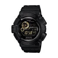 ราคานาฬิกาข้อมือ Casio G-Shock Mudman Digital Compass-Thermo Gold and Black G-9300GB-1