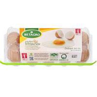 ราคาเบทาโกร ไข่ไก่อนามัยเบอร์ 1 10 ฟอง (Betagro No.1 Fresh Egg 10pcs)