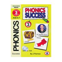 ราคาหนังสือ Phonics Success เล่ม 3 +CD (ISBN:9786165112581)