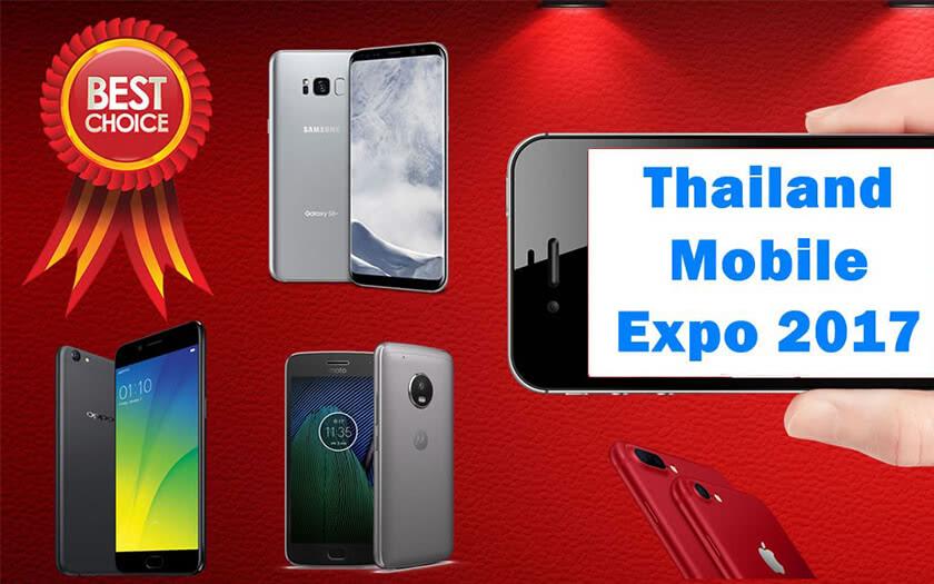 รวมให้แล้ว! ส่อง 10 สมาร์ทโฟนดาวเด่นประจำงาน Thailand Mobile Expo 2017 พร้อมสรุปสเปกและจุดเด่น