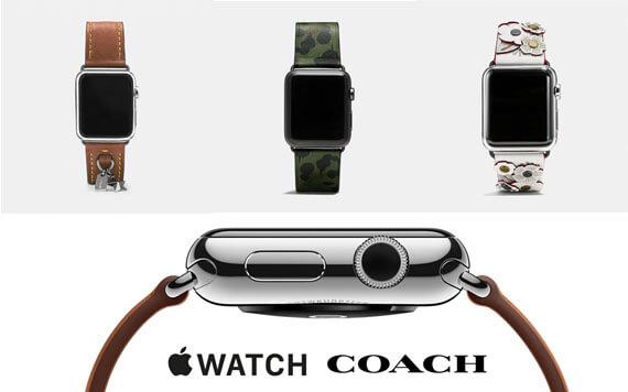 เผยโฉม Apple Watch กับสายหนังแบรนด์ Coach!! สวยไหม? ถามใจดู