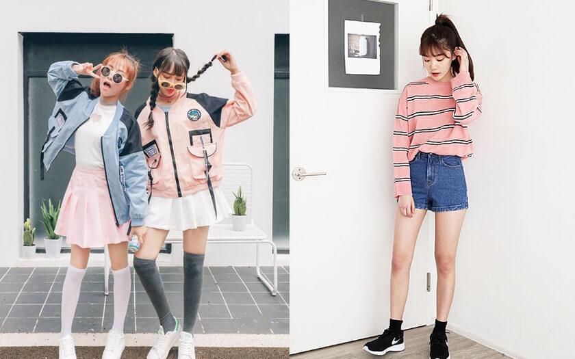 อัพเดทเทรนด์เสื้อผ้าแฟชั่นสไตล์สาวเกาหลี ตอนนี้เค้าฮิตอะไรกันบ้างน้า?