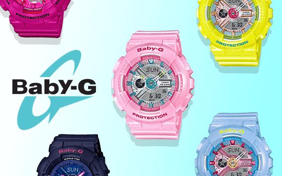อัพเดตราคาล่าสุด นาฬิกา Baby-G ทุกรุ่น ที่นี่!