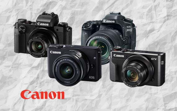อัพเดตราคาล่าสุด กล้องดิจิตอล Canon ทุกรุ่น ที่นี่!