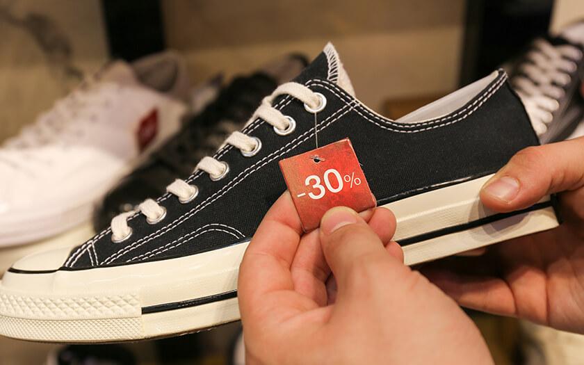 ส่องโปรโมชั่น รองเท้าผ้าใบ Converse ที่ไหนลด ที่ไหนแจก มาดูกัน!