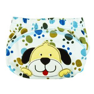 ราคา กางเกงผ้าอ้อมซับฉี่ Training Pant ลายสุนัข size 90 100 (L90147020)