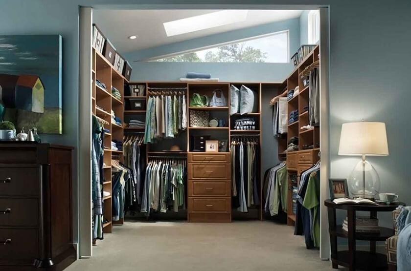 ไอเดียดี ๆ สร้าง Walk in closet ง่าย ๆ ได้ด้วยตัวเองแบบประหยัด