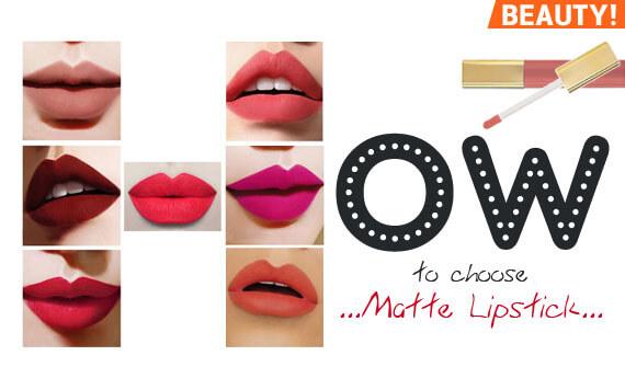 ทา Lip Matte สีไหน? ให้หน้าปัง! สวยเป๊ะ! มาดูมะ