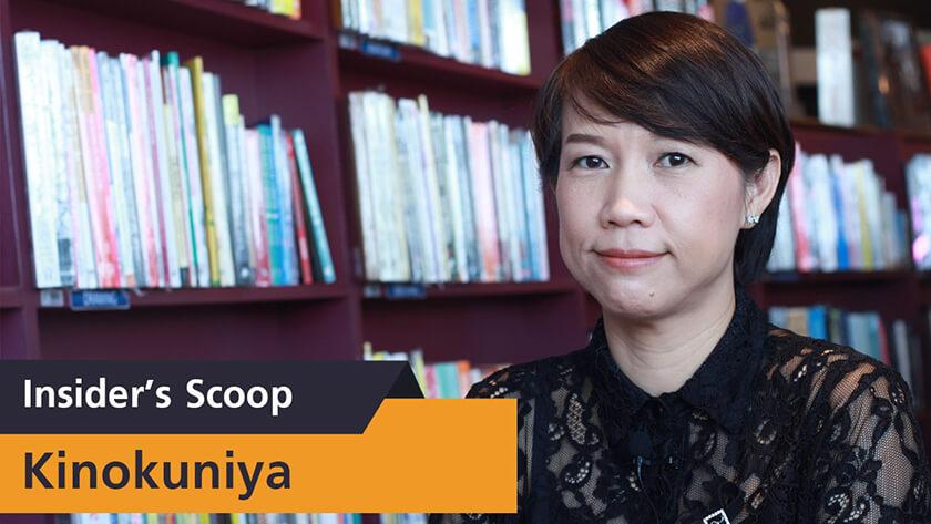 Insider's Scoop Kinokuniya [รางวัล Top SME Seller ประเภทสินค้า หนังสือ]