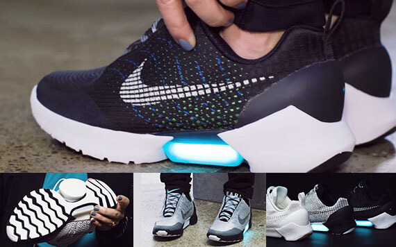 Nike เตรียมขาย รองเท้ากีฬาไฮเทค ไม่ต้องผูกเชือกก็แน่นอัตโนมัติ