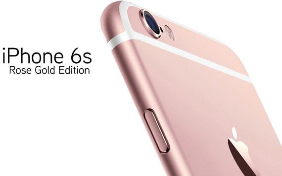 iPhone 6s เพิ่มสีทองกุหลาบ เอาใจคนรักสีชมพู