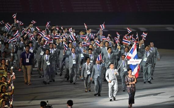 ส่งแรงใจร่วมเชียร์ขุนพลทีมชาติไทยสู้ศึกซีเกมส์ครั้งที่ 28 สิงคโปร์เกมส์
