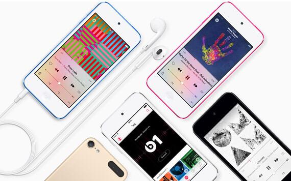 Apple เปิดตัว iPod Touch Gen 6 สเปคแรง พร้อมกล้อง 8 ล้าน ในราคาเบาๆ
