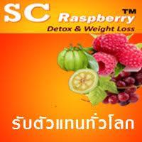 ราคาอาหารเสริมลดน้ำหนักและดีท๊อกซ์ SC Raspberry Detox & Weight loss