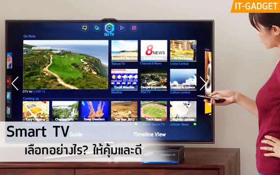 ซื้อ Smart TV ดีไหม? เลือกอย่างไรให้สมาร์ทโดนใจ และคุ้มราคา