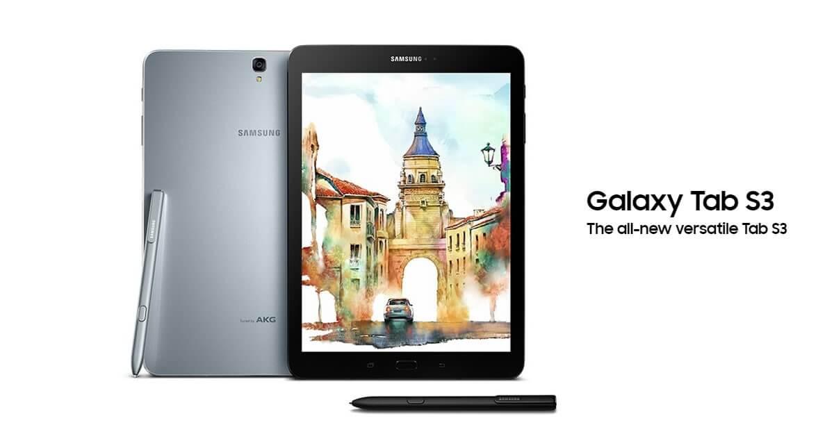 สรุป 9 จุดเด่น Samsung Galaxy Tab S3 แท็บเล็ตรุ่นล่าสุดที่ตอบโจทย์ครบทุกความต้องการ