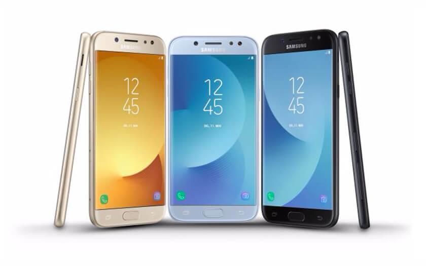 เปิดตัว Samsung Galaxy J3 , Galaxy J5 , Galaxy J7 (2017) ปรับดีไซน์ใหม่ บอดี้โลหะ เคาะราคาเริ่มที่ 8,xxx บาท